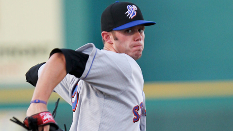Darin Gorski was named Florida State League Pitcher of the Year.