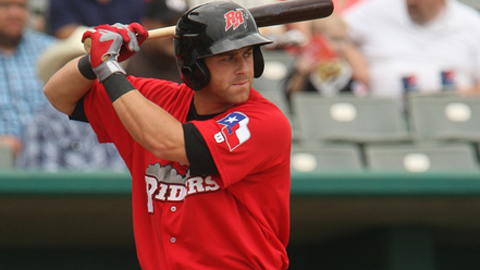 Mike Olt ranks second among active Texas Leaguers with a .980 OPS.